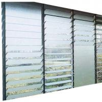 Buy cheap 4mmto 6mm Clear Tinted Mistlite Nashiji Louver Glass With CE And ISO Certificate from wholesalers