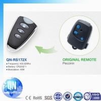 Buy cheap Universal 433.92Mhz 3 buttons compatible Peccinin garage door transmitter QN-RS172X from wholesalers