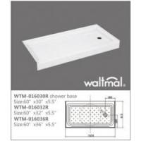 Buy cheap American Shower Tray Product  WTM-016030R North American Shower Tray from Wholesalers