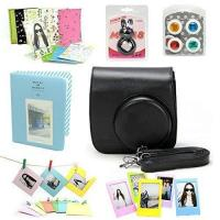 Buy cheap Camera Case CAIUL Fujifilm Instax Mini 8 Instant Film Camera Accessories Bundles, Black (7 Items) from wholesalers