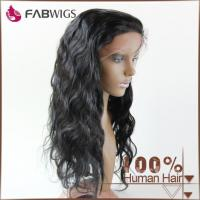 Buy cheap 100% Human Hair Front Lace Wig Virgin Hair Wig from wholesalers