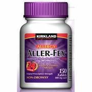 Buy cheap Kirkland Signature Aller-Fex, Compare to Allegra Allergy Active Ingredients, 150 Tablets from wholesalers