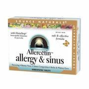 Buy cheap Allercetin Allergy & Sinus, Homeopathic Bio-Aligned, 48 tabs from Source Naturals from wholesalers