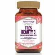 Buy cheap Tres Beauty 3 (Collagen, Keratin & Elastin), 90 Capsules, ReserveAge Organics from wholesalers