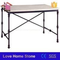Buy cheap Table China Made White Samll Modern Marble Top Coffee Table Top Round Dining End Table from wholesalers