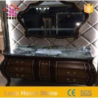 Buy cheap Vanity Top Cultured and Black Marble Vanity Countertops with Modern Design from wholesalers
