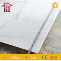 Buy cheap Italy White Carrara Marble Slabs and Tiles for Bathroom for Sale product