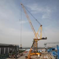 Buy cheap Luffing-jib tower crane Home China High Performance 63t Luffing jib Crane FZQ1380 from wholesalers