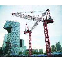 Buy cheap Luffing-jib tower crane Home D420 Max 25t Load Self-erected Luffing Crane from wholesalers