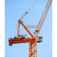 Buy cheap Luffing-jib tower crane Home LTC5520 16t Max Load Luffing tower crane with CE Certificate from wholesalers