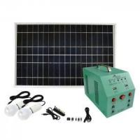 China 144Wh Solar Panel Battery Home System Solar Lighting Kits Phone Charging on sale