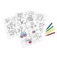 Buy cheap Awards PAINT YOUR PICTURE CHILDRENS JIGSAW PUZZLE COLOURING SET. from wholesalers