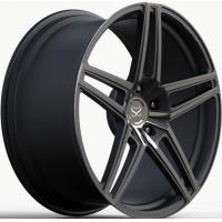 Buy cheap Gloss Black Milling Windows Forged Wheel Rims from wholesalers