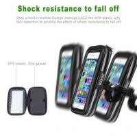 Buy cheap Vodool Bicycle Mount Holder Rainproof Bag Case for Smartphone 5.5 from wholesalers