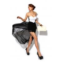 Buy cheap Women Solid Straight Short Chiffon Polyester ... product