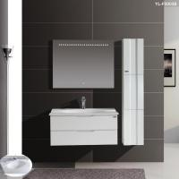 Buy cheap White Glossy Bathroom Furniture Design For Sale from wholesalers