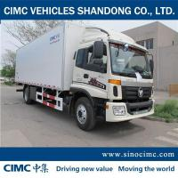 Buy cheap Foton 4*2 refrigerated vans for sale from wholesalers