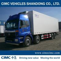 Buy cheap refrigerator truck for sale with FOTON Chassis from wholesalers
