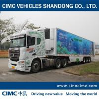 Buy cheap CIMC Super 3-Axle refrigerated Semi-trailer For Sale from wholesalers