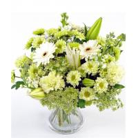 Buy cheap Mixed Bouquets Crisp White Flowers from wholesalers