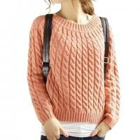 Buy cheap Womens Sweaters Girls Slash Neck Cable Knitting Pattern from wholesalers
