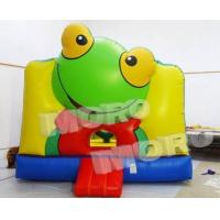 Buy cheap Frog Inflatable Bouncer/Frog Inflatable Ball Pit from wholesalers