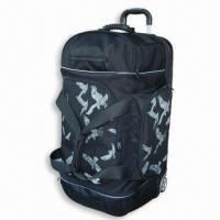 Buy cheap Travel Bags Trolley Duffel Bag with PU Silent Wheels and Handle from wholesalers