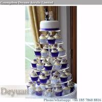 Buy cheap acrylic cake stand High quality cake tier stand cupcake stand from wholesalers