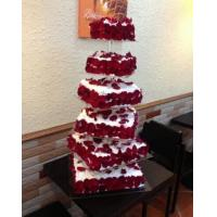 Buy cheap acrylic cake stand Wedding Cake Stands In Sale / Cupcake Tower Custom Design from wholesalers