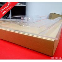 Buy cheap acrylic cake stand Square Cupcake Stand Clear With Single Box Packing from wholesalers