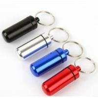 Buy cheap KEYCHAIN KEYRING Metal Keychain Pill Holder from wholesalers