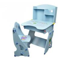 Buy cheap sunshine colorful multi-function children study desk and chair from wholesalers