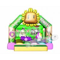Buy cheap Zombie Plant Inflatable Bouncer/Zombie Plant Inflatable Soft Play from wholesalers