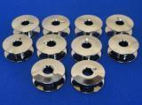Buy cheap 10 BOBBINS, NO 55623, 21mm X 8.5mm WILL FIT, SINGER 20U, BROTHER, JUKI + MORE from wholesalers