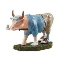 Buy cheap Decorative Accessories Golfer Cow product