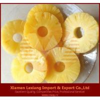 Buy cheap canned fruits Product name:canned pineapple ring slice from wholesalers