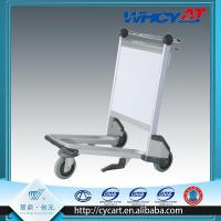 Buy cheap Large Ad board airport trolley with brake system from wholesalers
