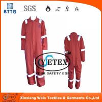 Buy cheap Flame retardant rope Orange pyrovatax cotton faddish workwear with FR and heat insulation material from wholesalers