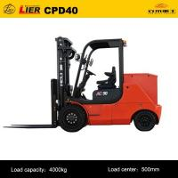 Buy cheap Forklift G series 4-5 ton AC balanced weight storage battery forklift from wholesalers