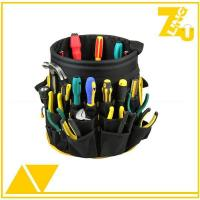 Buy cheap Multifunctional Pockets electrician garden bucket tool carry bag from wholesalers