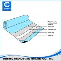 Buy cheap PET Film Surface self adhesive bitumen waterproofing felt from wholesalers