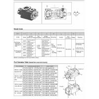 Buy cheap Vane Pump V Series Double Vane Pump, 2520V, 3520V, 3525V, 4520V, 4525V, 4535V ( Vickers Type ) from wholesalers