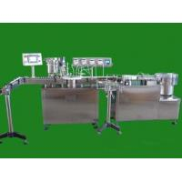 Buy cheap filling capping machine automatic filler line for perfume spray bottles bottles feeding system fill from wholesalers
