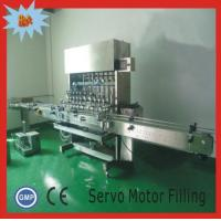Buy cheap linear automatic liquid filling screw capping automated caps feeding round bottles labeling machines from wholesalers