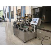 Buy cheap Double head screw capping machine for glass wine bottle Schr from wholesalers