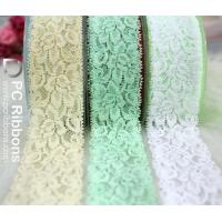 Buy cheap Ribbon bows&trimmings Wholesale 1.5'' width elastic lace for baby headband from wholesalers