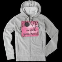 Buy cheap Women's Love Is All You Need Dot Go-To Zip Hoodie from wholesalers