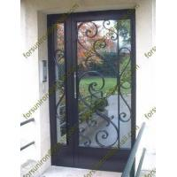 Buy cheap residential steel entry doors,entry doors wrought,wrought iron doors,cheap wrought iron door from wholesalers