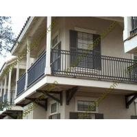Buy cheap Simple design wrought iron balcony railings/porch railings with low price from wholesalers