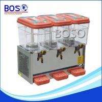 Buy cheap 3 gallon drink dispenser BOS-54L 3tank from wholesalers